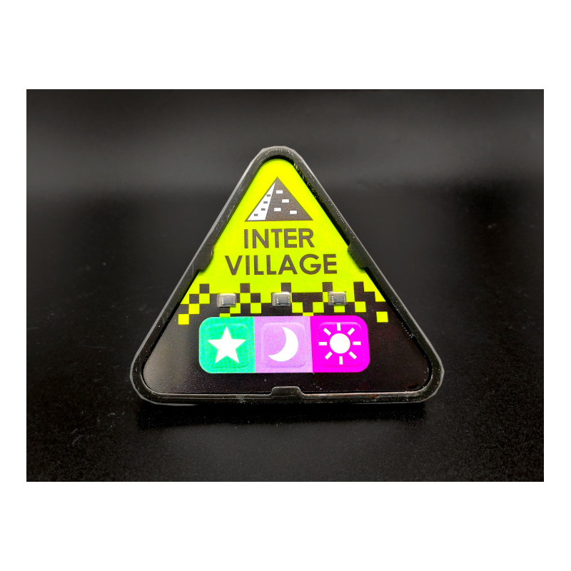 Black Matter, Intervillage Badge front