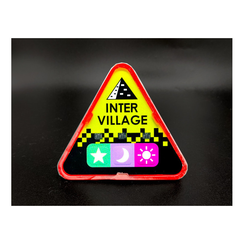 Red Attack, Intervillage Badge front