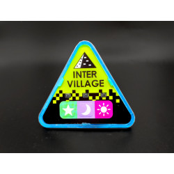 Blue Defense, Intervillage Badge front