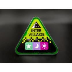 Matrix Green, Intervillage Badge front