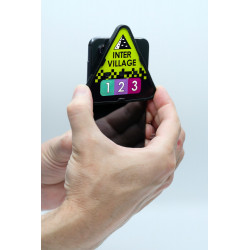 Using the badge with a smartphone